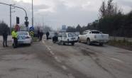 Trafik ışıkları devre dışı kaldı zincirleme kaza meydana geldi