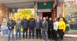 Kaymakam Şükrü Görücü'den CHP'ye ziyaret