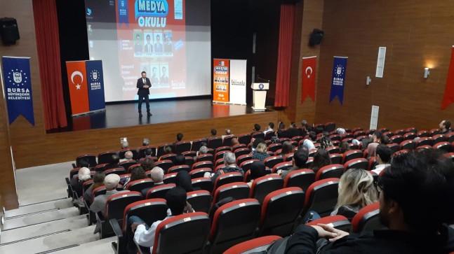 Medya Okulu'nda ders başı
