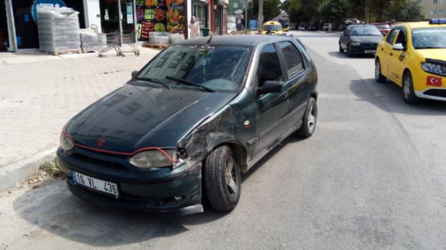 İnegöl'de kaza: 3 yaralı